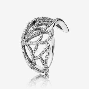 Pandora New Beginning Butterfly Ring, Clear CZ